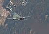J-3033 F5 Tiger launching from Meiringen.